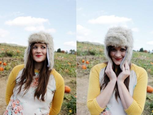fur hat (via seekatesew)