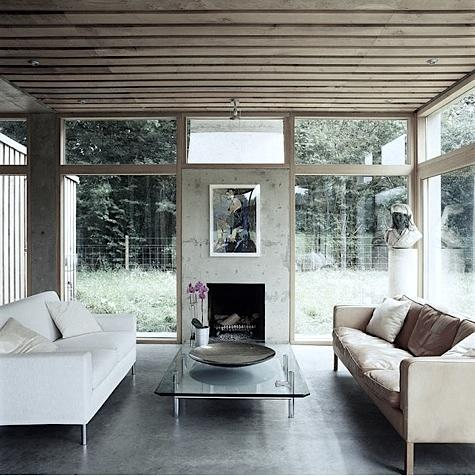 15 Cool Interior Designs With Concrete Walls Shelterness