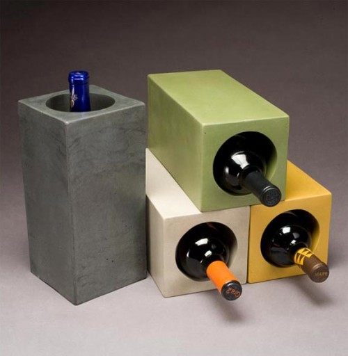 Concrete Cubes To Store Wine