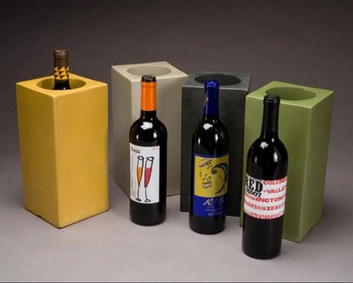 Concrete Wine Storage