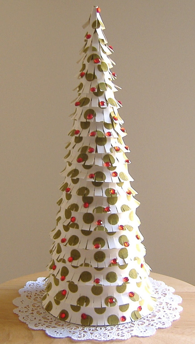 Cone Shaped Christmas Tree