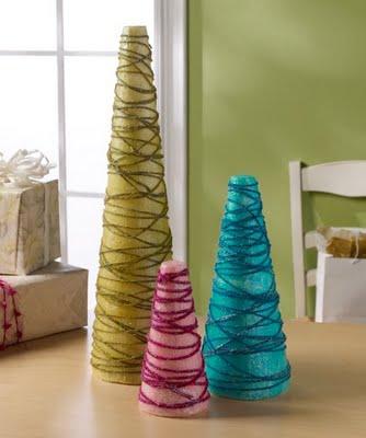 Cone Shaped Christmas Tree