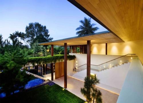 Contemporary Courtyard House