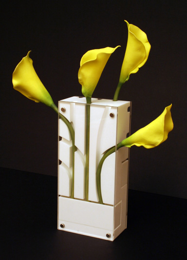 Simple Wall-Mount Flower Vase | ThisNext