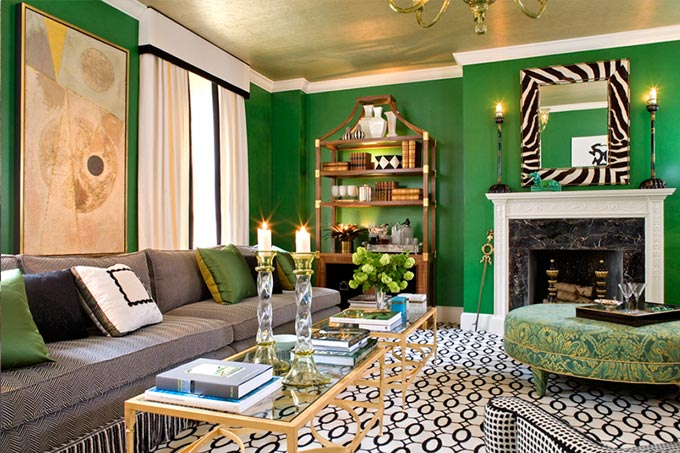 Contrast Strips In Interior Decorating