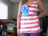 no sew patriotic top