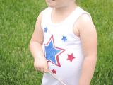 4th July dress for little girls