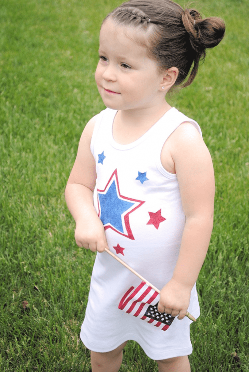 4th July dress for little girls (via crazylittleprojects)
