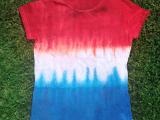 tie dye patriotic shirt