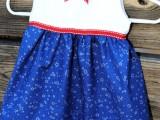 4th July baby girl dress