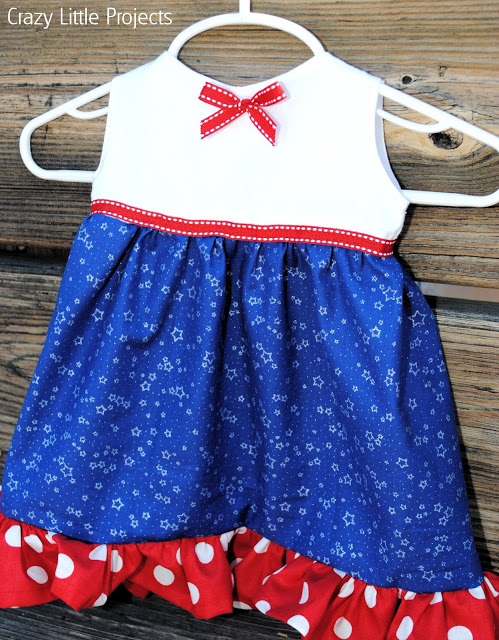 4th July baby girl dress (via crazylittleprojects)