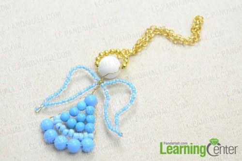 blue beaded angel (via lc)