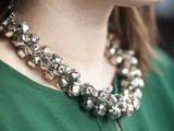 statement jingle bells necklace