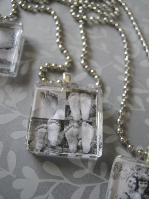 personalized photo pendants (via shelterness)