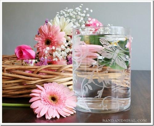 etched glass vase (via sandandsisal)