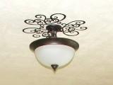 patterned ceiling medallion