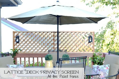 lattice privacy screen (via atthepicketfence)