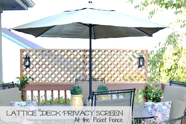 picture of lattice privacy screen