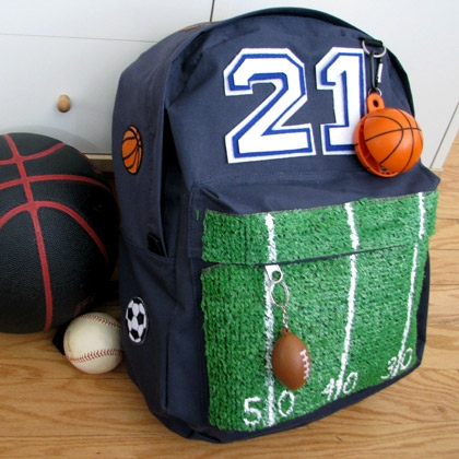 sports backpack (via spoonful)
