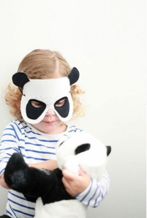 panda mask (via kidsomania)