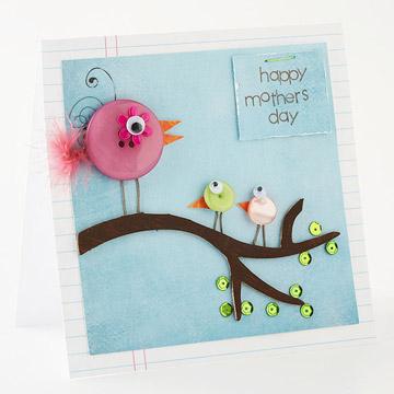 button birdie card (via nitenitemommy)
