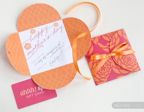 mother's day gift card (via elli)