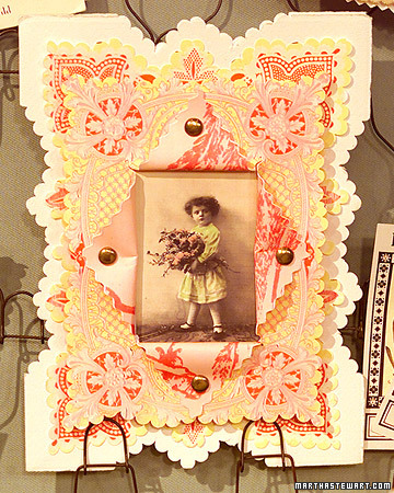 picture frame card (via nzgirl)