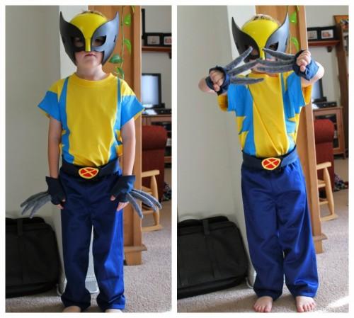 Wolverine costume (via freshlycompleted)