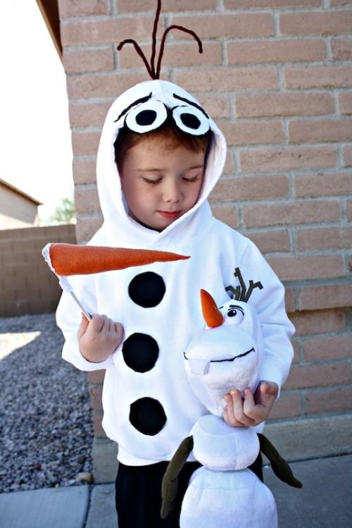 Frozen Olaf costume (via desertchica)