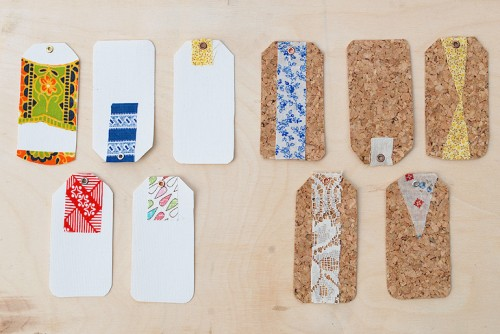 cork gift tags (via themerrythought)
