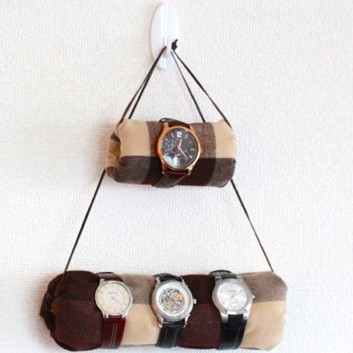 hanging watch holder (via shelterness)
