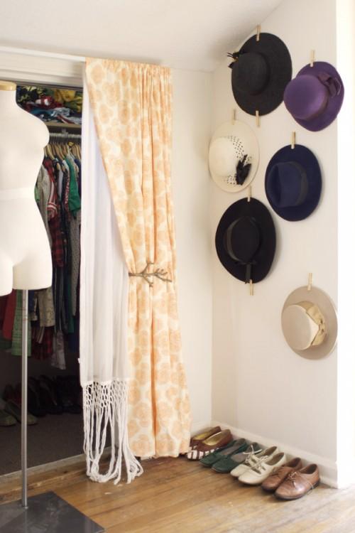 hat display (via abeautifulmess)