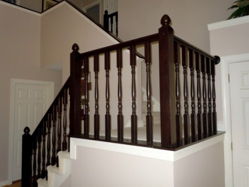 7 Cool And Very Easy DIY Banister Makeovers