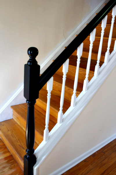 7 Cool And Very Easy Diy Banister Makeovers Shelterness