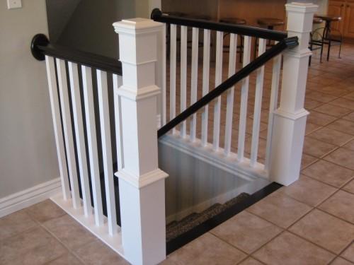 making your own banister (via tdadecoratinganddesign)