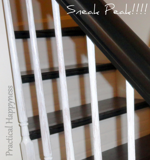 stylish banister renovation (via practicalhappyness)