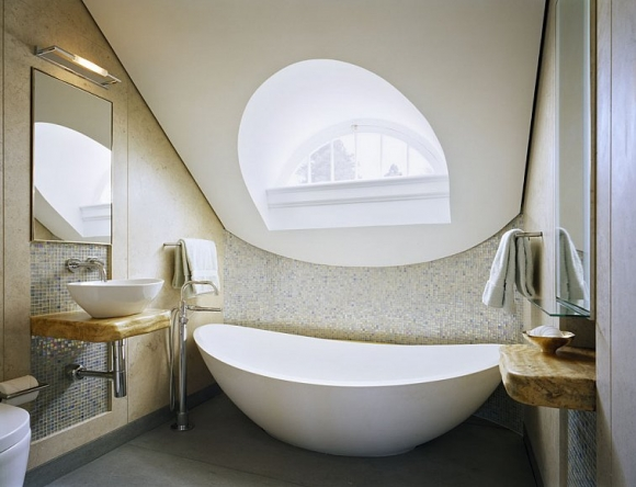 cool attic bathroom design ideas shelterness