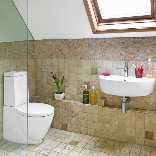 Picture Of Cool Attic Bathroom Design Ideas
