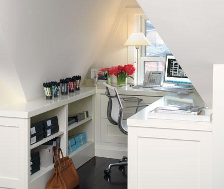 Cool Attic Home Office Design Ideas