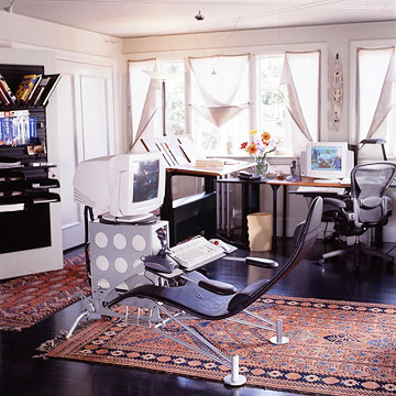 Design Ideas  Home Office on 21 Cool Attic Home Office Design Ideas   Shelterness