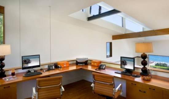 Cool Attic Home Office Design Ideas | Shelterness