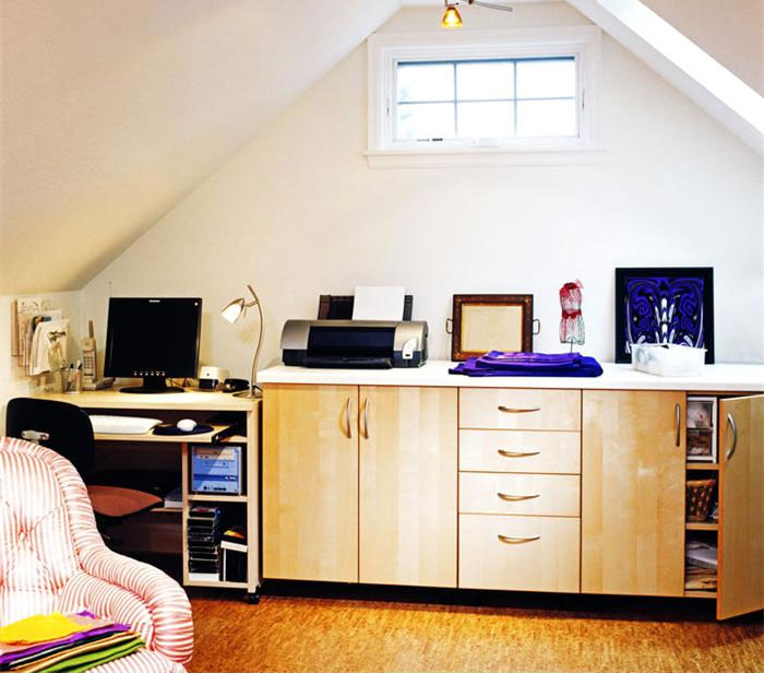 cool attic home office design ideas shelterness