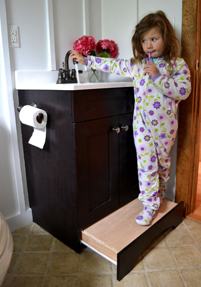 A Cool Bathroom Vanity Upgrade For Those Who Have Kids
