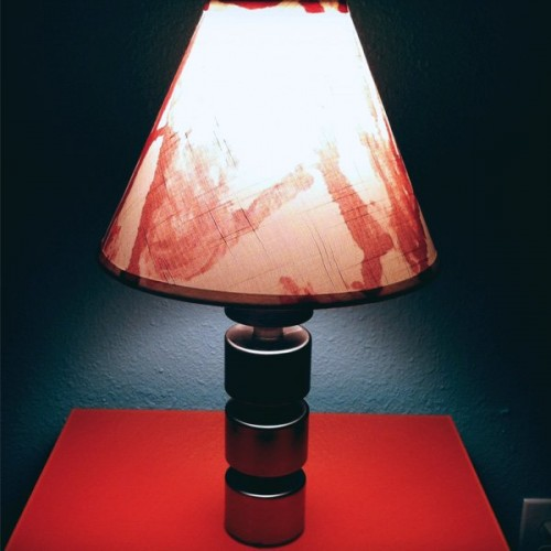 bloody lampshade (via buildingmoxie)