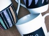 easy chalkboard mugs