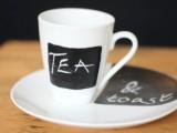 chalkboard mug and plate