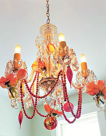 Bejeweled Chandelier