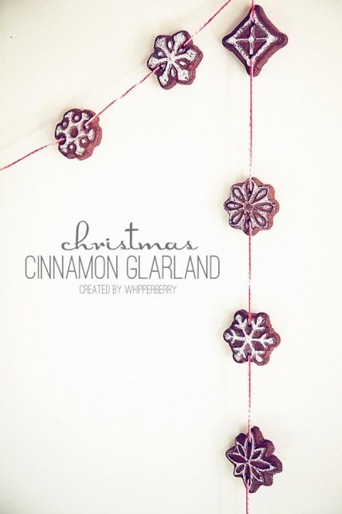 cinnamon cookies garland (via hoosierhomemade)