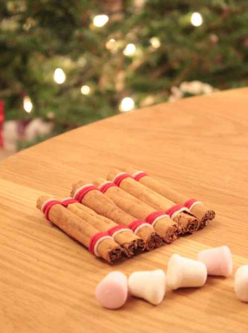 cinnamon sticks coaster (via cookquiltmakeandbake)