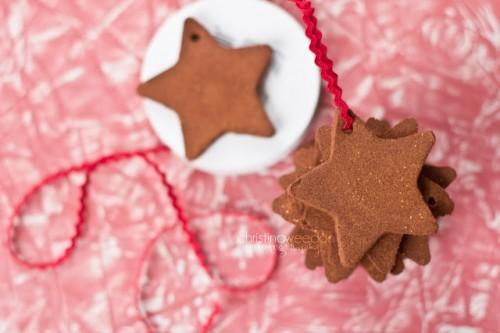 cinnamon star ornaments (via dandelionsonthewall)